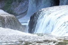 滝めぐり③吹き割の滝♪3
