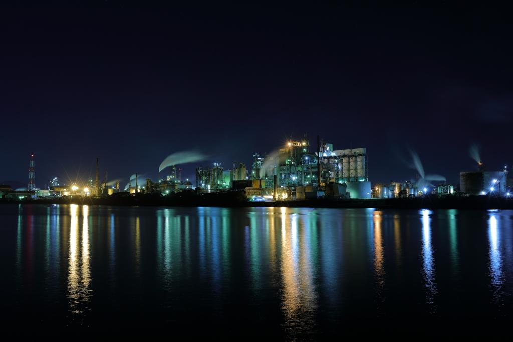 工場夜景 北九州