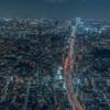 六本木通りの夜景
