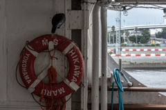 氷川丸船内1