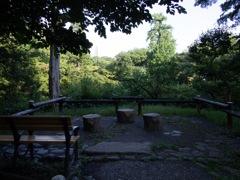 井の頭恩賜公園内の展望台?