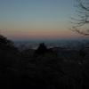 ケーブルカー高尾山駅付近からの眺め