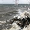 天神浜 しぶき氷