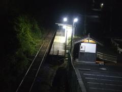 夜の駅 2