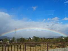 「虹ですよ~」 2