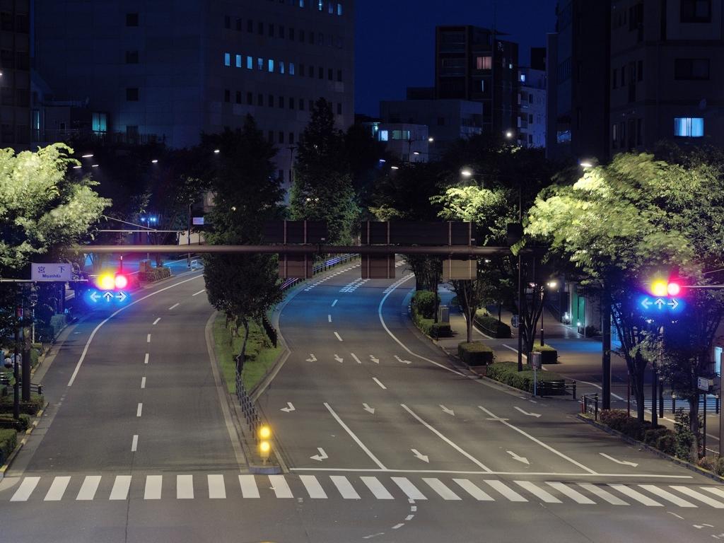 山手通りの夜