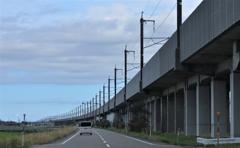 上越新幹線側道