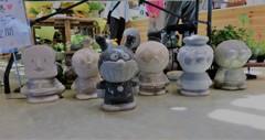 石造のアンパンマンたち