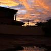 夕立の後の水たまり