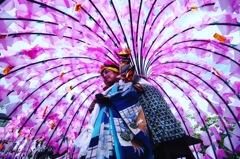ほろ祭り ♪(*^^)o∀*∀o(^^*)♪。