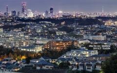 故郷の夜景