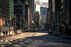 元日の日本橋