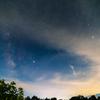 月と星と向日葵と