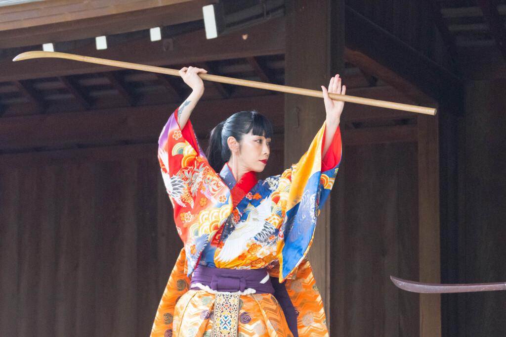 古武術奉納会(薙刀)