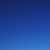 Blue sky of the Galaxy railroad