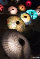大山和傘灯Ⅱ