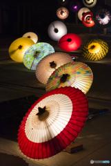 大山和傘灯Ⅰ