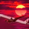 19 Take off at Sunset (Garuda & Thai)