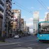 ハルカスと阪堺線