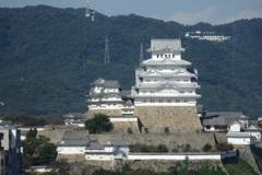 姫路城正面(archives)