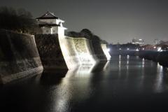 大阪城石垣と六番櫓(archives)