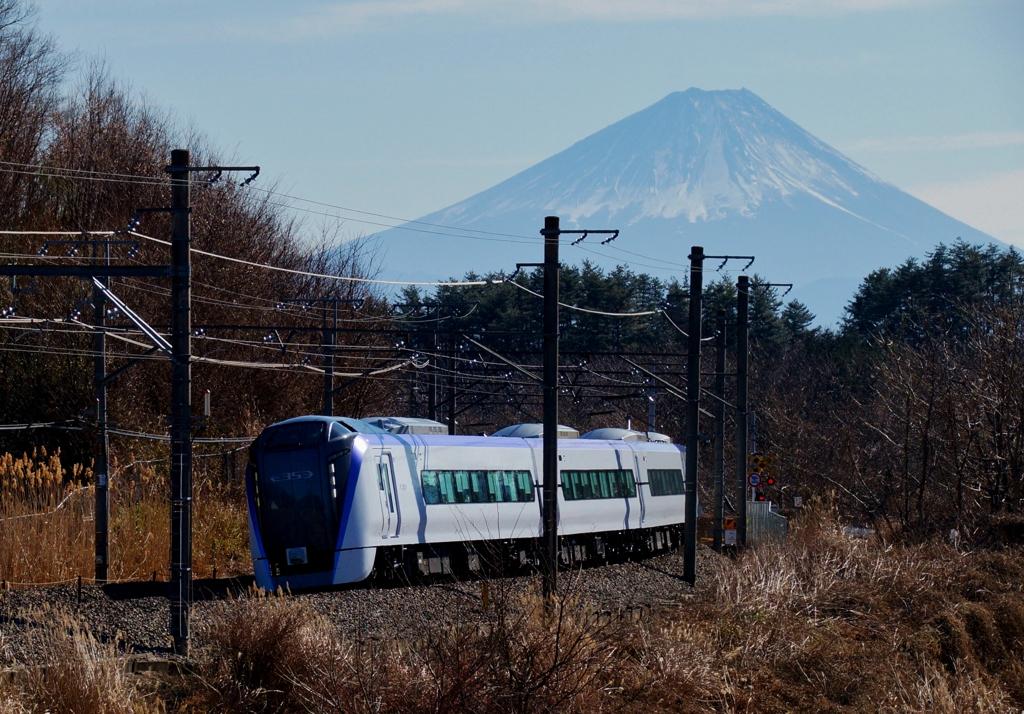 富士山&E353系電車!