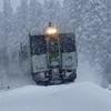 キハ110 雪道驀進!