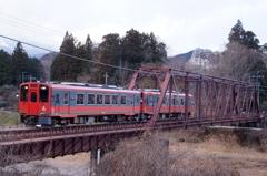 会津鉄道の車両が乗入れ!