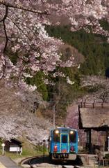 旅情ムード満点の湯野上温泉駅!①