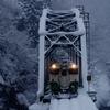 積雪の第4橋梁!