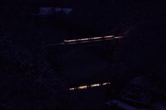 422D夜明け前の第1橋梁を渡る!