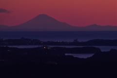 伊勢志摩からの富士山