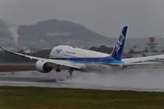 ANA B787離陸