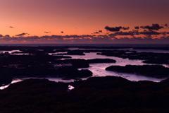 英虞湾の夜明け
