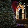 港町はクリスマスでした。