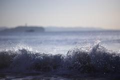 波踊る秋の海