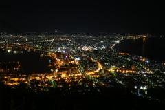 山の夜景2