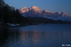 黎明の妙高山
