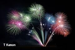 亀岡平和祭保津川市民花火大会⑩