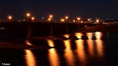 武庫大橋の街灯