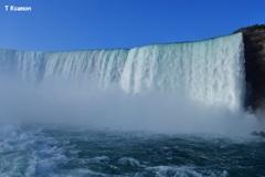 ナイアガラのカナダ滝⑤