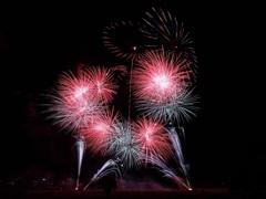 亀岡平和祭保津川市民花火大会⑨