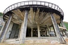 東洋一の選鉱場跡