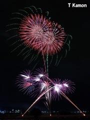 亀岡平和祭保津川市民花火大会⑧