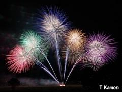 亀岡平和祭保津川市民花火大会⑦