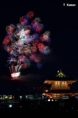 若草山の花火④