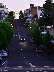 夜明け~坂道~