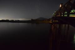 岩木山と鶴の舞橋