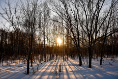 北の大地 -落陽-