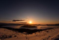 北の大地 -屈斜路湖・冬2-